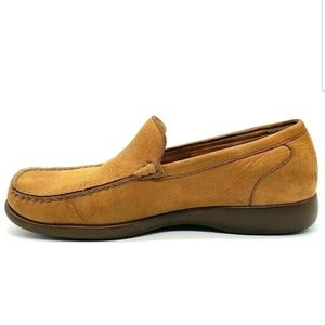 Mephisto Shoes - Mephisto Mens Shoes Nubuck Leather Slip On Loafer